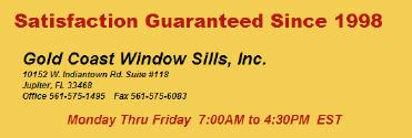 Gold Coast Window Sills, Inc.