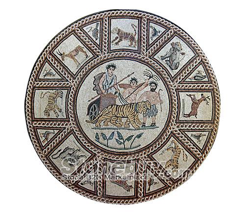 Mosaic Art NO:974