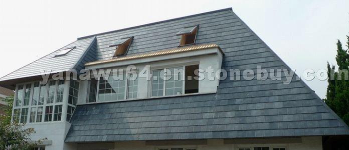 Green Slate Roof Tiles