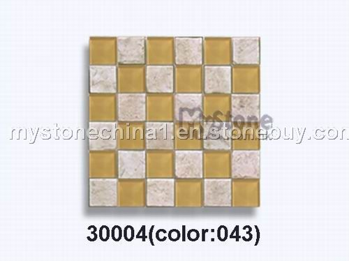 Glass stone mosaic