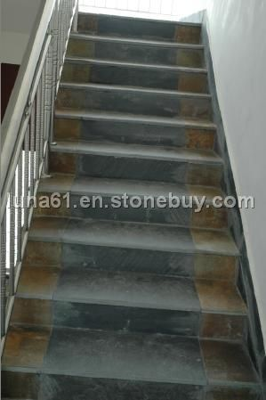 Granite Stair Tread And Rise, Marble Stairs