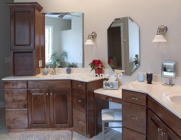 Bathroom vanity countertop