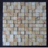 Crystal Glass & Marble & Resin Mixed Mosaic CTR-GM
