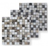 Marble mix brown mosaic
