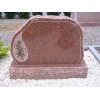 Tombstone Polished Vanga red granite