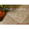 Noce Travertine Versailles Pattern Tile Tumbled