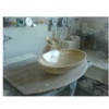 Travertine Sink, Basin